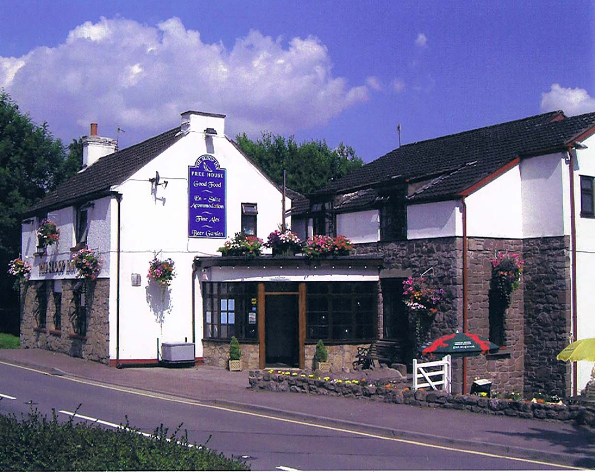 image showing The Sloop Inn Llandogo, great beer, food and accommodation in the Wye Valley